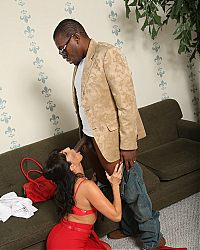 Smokin hot Tara Holidays pussy is slammed hard by a hung black guy on blacks on cougars blog