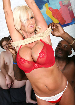 Hot milf getting her pussy totally demolished by a black cocked guy on blacks on cougars blog
