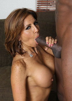 Hot milf interracial sex scene on blacks on cougars blog